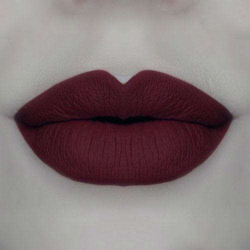oxbloode is the new black matte lipstick