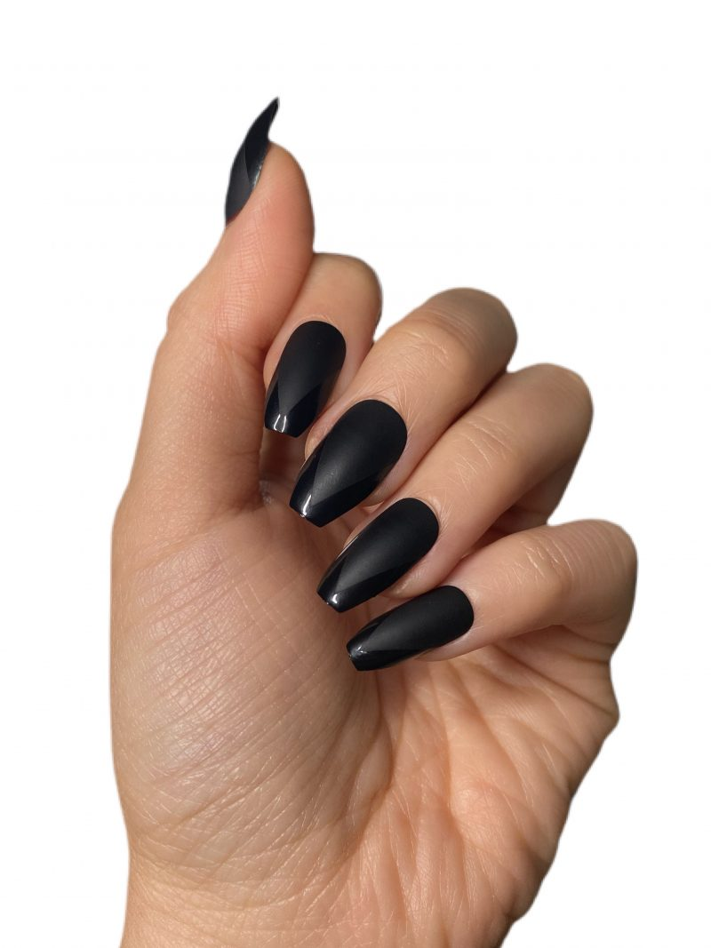 leather nail hands